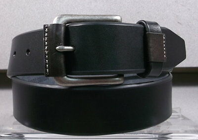 757320 ESBLT20 Mens Belt Size 36 Black Leather Johnston - Murphy