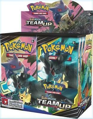 Pokemon Team Up Sun - Moon Booster Box Factory Sealed