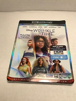 A Wrinkle In Time 4K 2018 NEWSEALED WSLIPCOVER