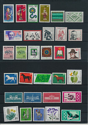 Stamps of Germany-West BRD mint Orginal Gum  great lot  WA 10