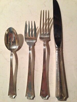 Gorham FAIRFAX Sterling Silver - 4 Piece Place Setting - No Monos - Place Size