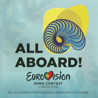 Various Eurovision Song Contest Lisbon 2018 All Aboard 2 × CD 0602567464266