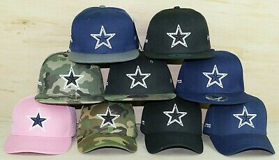 Dallas Cowboys Glow In The Dark Snapback - Low Profile Embroidered NFL Hat
