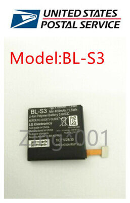 New BL-S3 Battery For LG G Watch R W110 - Watch Urbane W150 410mAh 1-6Wh US Ship