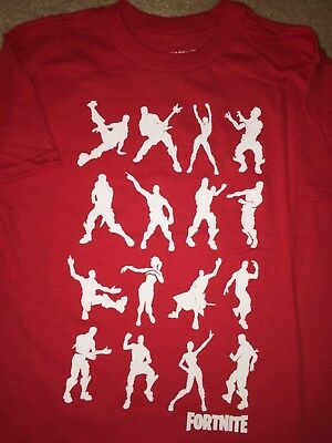 FORTNITE dance Moves Video GAME BATTLE ROYALE Commando BOYS Youth New T-shirt
