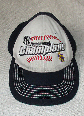 LSU SEC Tournament Champions Hat