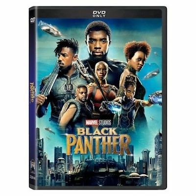 Black Panther DVD2018 NEW Action Adventure FREE SHIPPING