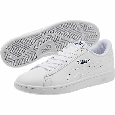 PUMA Mens Smash v2 Leather Perf Sneakers