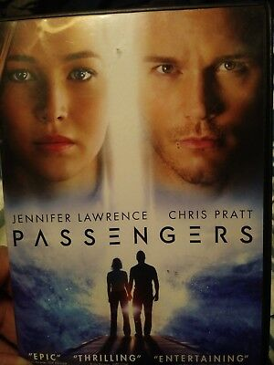 PASSENGERS dvd Jennifer Lawrence - Chris Pratt DVD ONLY