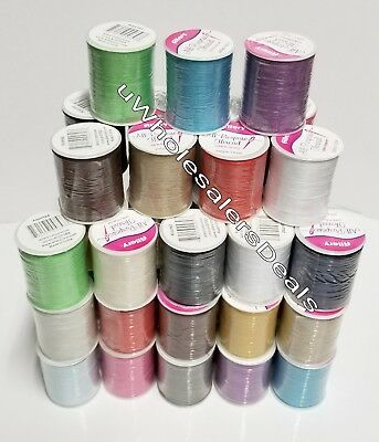 30 Spools Sewing Thread Polyester Assorted Colors 200 yards each Wholesale Lot