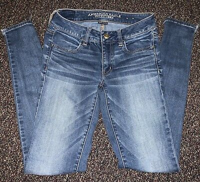 American Eagle Outfitters Size 2 Long Jegging Super Stretch