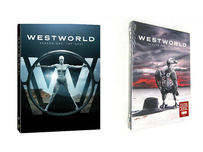 WestWorld the Complete 1st and 2nd Seasons Season 1 2 DVD 12 Bundle Set NEW