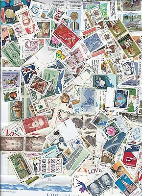 10 face value- all different postage stamps wide variety  1c-110c MINT