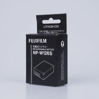 NEW Genuine Fujifilm NP-W126S Rechargeable Battery for X-T1X-T2 T3