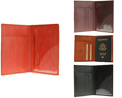 Brand New Visconti Soft Leather Secure RFID Blocking Passport Cover Wallet