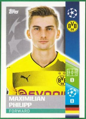 TOPPS CHAMPIONS LEAGUE 2017 2018 STICKER NR 114 MAXIMILIAN PHILIPP