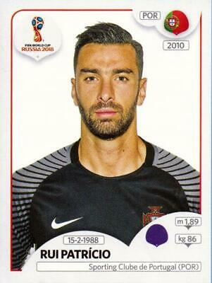 PANINI WORLD CUP 2018 RUSSIA STICKER NR 114 RUI PATRICIO PORTUGAL