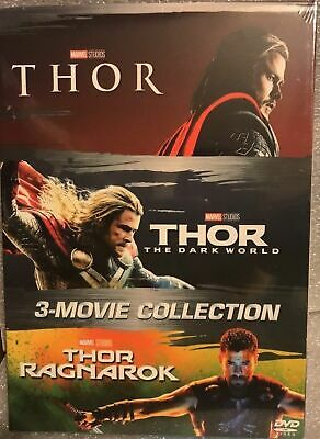 Thor 3-Disc DVD Trilogy Collection Set