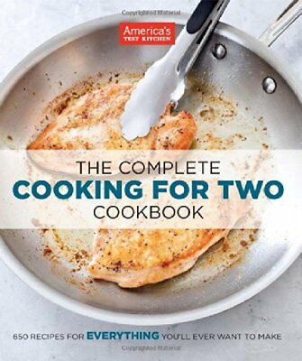 The Complete Cooking for Two Cookbook by Americas Test Kitchen ĔβŐŐĶ 2018✔️