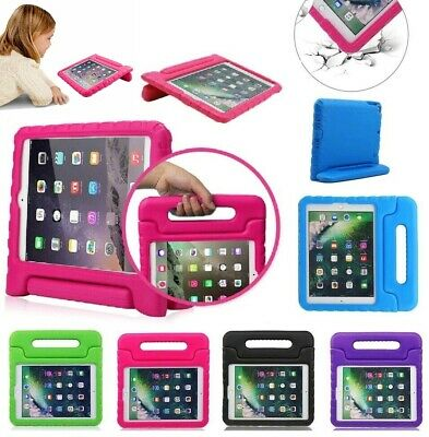 Kids Shockproof Foam Case Handle Cover Stand for iPad 2 3 4 5 Mini Air Pro 10-5