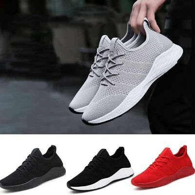 Mens Shoes Outdoor Athletic Running Sneakers Breathable Light Jogging Trainers