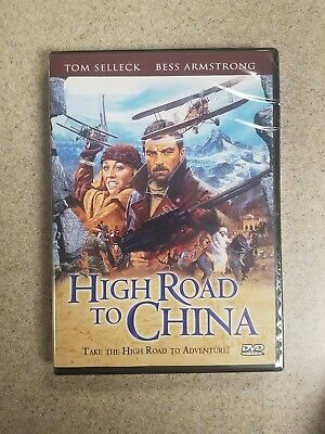 High Road to China TOM SELLICK DVD 2012