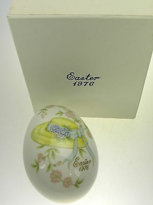 Noritake Easter Egg 1976 Limited Edition Bone China Made in Japan