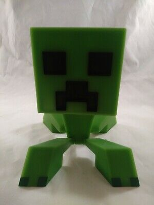 Notch And Mojang Minecraft Creeper 6 Vinyl Figure Moveable Head Free Shipping
