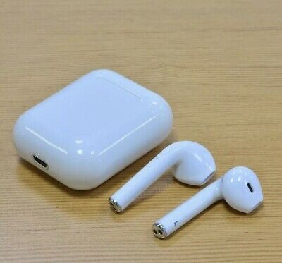 NEW Premium Airpods Style Wireless Earbuds w Charging Case Headphones