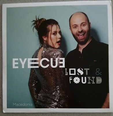 EUROVISION 2018 MACEDONIA ENTRY EYECUE LOST - FOUND PRESS PROMO CD