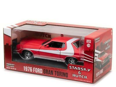 1976 FORD GRAN TORINO STARSKY AND HUTCH 124 DIECAST MODEL BY GREENLIGHT 84042