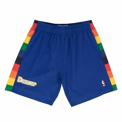 Mens Mitchell - Ness NBA Swingman Shorts Denver Nuggets