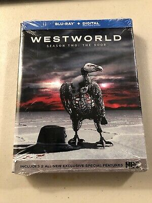NEW Westworld Season Two The Door Blu-ray - Digital Copy 2018 FACTORY SEALED
