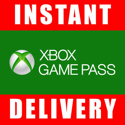 Xbox Game Pass 14 Days Trial Code for Xbox One 2 Weeks - Instant Dispatch 247
