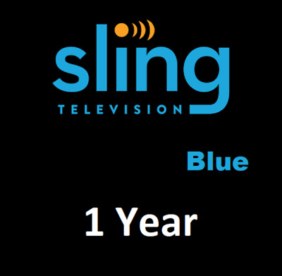 Sling TV  Blue - 1 year Warranty For 12 Months