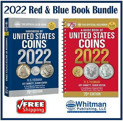 New 2022 Official Red Book Price Guide United States US Coin - Blue Book New Lot