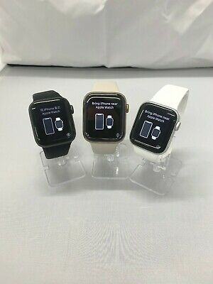 Apple Watch Series 4 GPS Cellular 4G LTE 40mm  44mm Aluminum or Stainless Steel