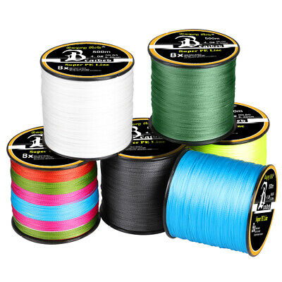 300-1000M Super Strong PE Spectra Braided Sea Fishing Line 48 Strands 12-100LB