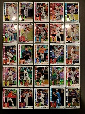 2019 TOPPS SERIES 2 SILVER PACK 1984 Single Chrome You Pick Complete Your Set