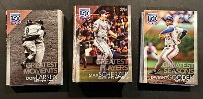2019 TOPPS SERIES 2 150 YEARS OF PROFESSIONAL BASEBALL You Pick U 0-99 Max Ship