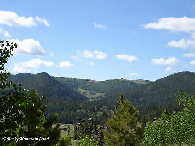 1-1 ACRES CRIPPLE CREEK COLORADO TREES VIEWS WATER AND ELECTRIC