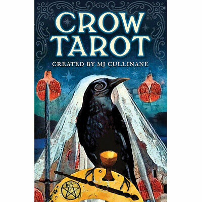 Crow Tarot NEW Deck and Booklet Set by MJ Cullinane 2019 3x5 Raven Cards