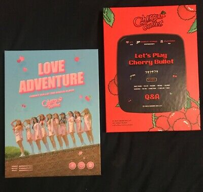 CHERRY BULLET ALBUMS NO PHOTOCARDS