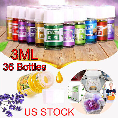 Aromatherapy Essential Oils 100 Natural Pure Essential Oil Fragrances US STOCK