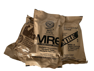 MILITARY MRE MEALS YOU PICK THE MEAL BUY 2 GET 1