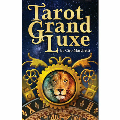 Tarot Grand Luxe NEW Deck and Book Set by Ciro Marchetti 2019 3x5 Cards