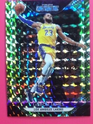 LEBRON JAMES 201819 mosaic CAMO prizm  SERIAL NUMBER  0925