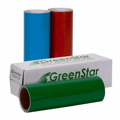 GreenStar Sign Vinyl Self Adhesive - Get 5 Rolls For 29-95 12in x 10ft  Roll