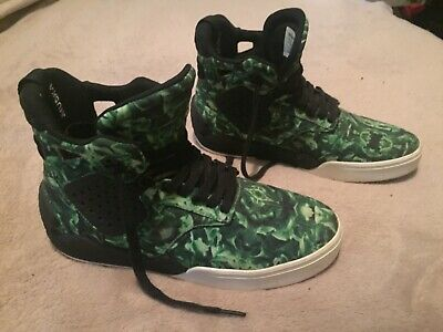 Supra Skytop 4 IV Mens 9 SUPER RARE Green Black White SAMPLE ONLY
