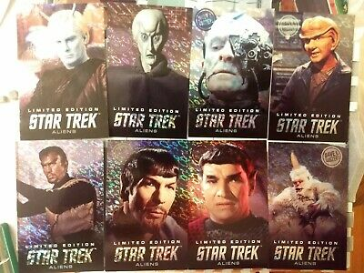 Dave and Busters Aliens Star Trek Limited Edition Foil Arcade Card Singles